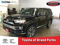 Certified Pre-Owned 2018 Toyota 4Runner Limited 4WD SUV Grand Forks, ND