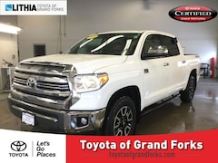 Certified Pre-Owned 2016 Toyota Tundra Crewmax 5.7L FFV V8 6-Spd AT 1794 Truck CrewMax Grand Forks, ND