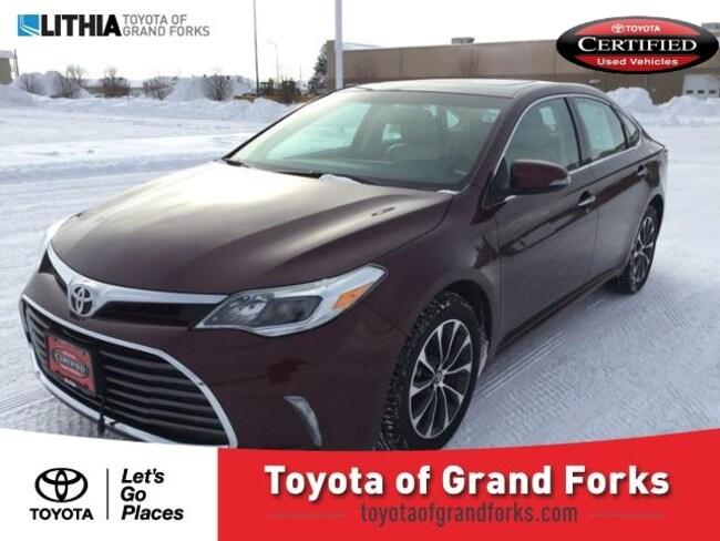 Used 2016 Toyota Avalon 4dr Sdn XLE Premium Sedan Grand Forks, ND
