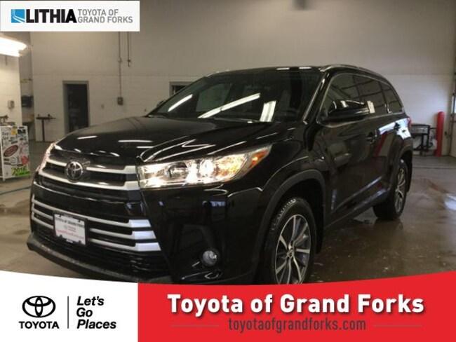 New 2019 Toyota Highlander XLE V6 SUV Grand Forks, ND