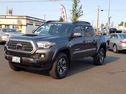 Used 2018 Toyota Tacoma TRD Sport V6 Truck Double Cab Medford, OR
