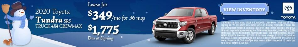 2020 Toyota Tundra SR5 Truck 4x4 CrewMax