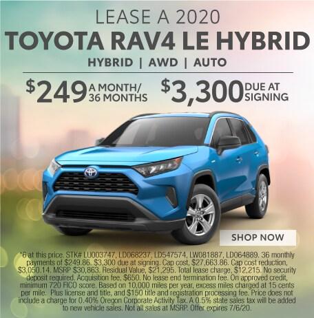 Toyota RAV4 LE Hybrid