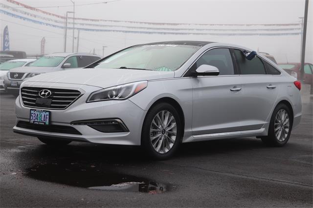 Used 2015 Hyundai Sonata Limited w/PZEV Sedan Medford, OR