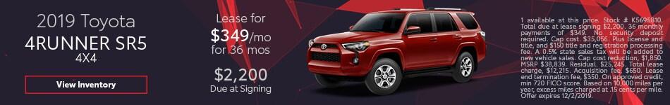 2019 Toyota 4Runner SR5 4x4