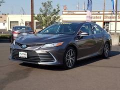 New 2021 Toyota Camry Hybrid XLE Sedan Medford, OR