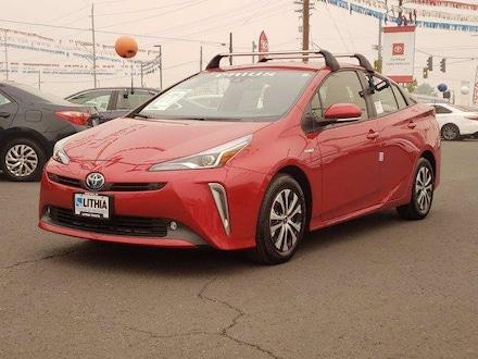 New 2021 Toyota Prius XLE Hatchback serving Medford, OR