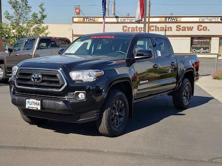 New 2021 Toyota Tacoma SR5 V6 Truck Double Cab Medford, OR