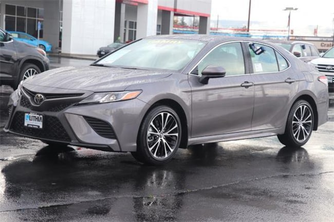 New 2019 Toyota Camry Sedan Predawn Gray Mica For Sale In Medford Or