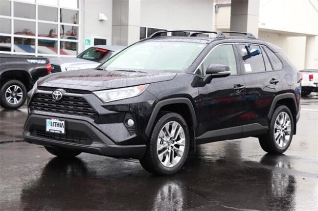 New 2019 Toyota Rav4 Suv Midnight Black For Sale In Medford Or