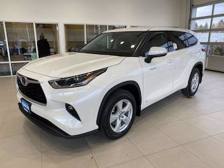 New 2021 Toyota Highlander Hybrid LE SUV Missoula, MT