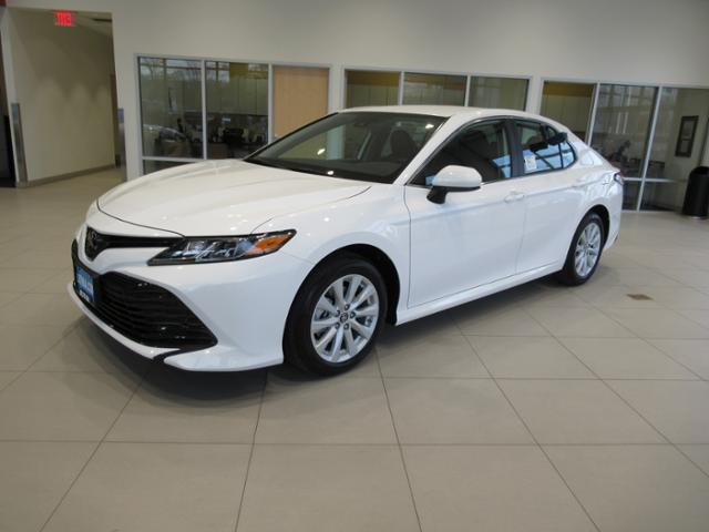 New 2019 Toyota Camry Sedan Le Super White For Sale In Missoula Mt
