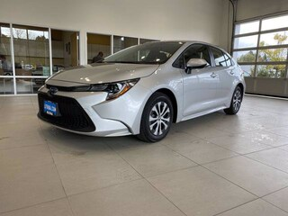 New 2021 Toyota Corolla Hybrid LE Sedan Missoula, MT