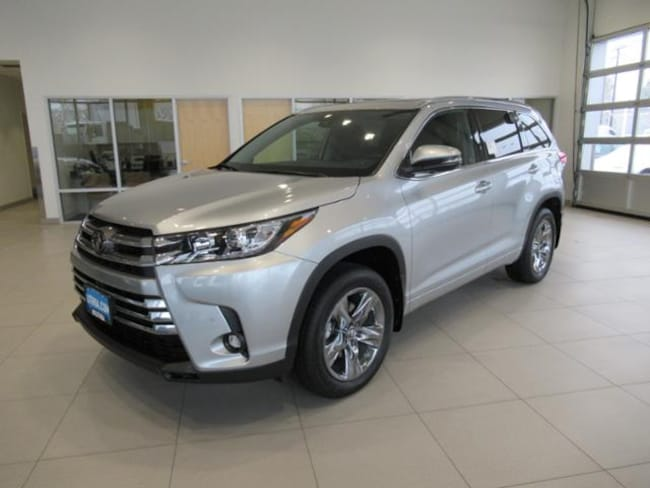 New 2019 Toyota Highlander Limited Platinum V6 SUV Missoula, MT