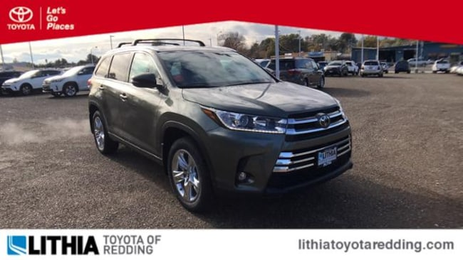 New 2019 Toyota Highlander Limited V6 SUV Redding, CA