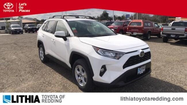 New 2019 Toyota RAV4 XLE SUV Redding, CA