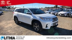 New 2019 Toyota Highlander LE V6 SUV in Redding, CA