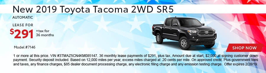 New 2019 Toyota Tacoma Trucks For Sale In Redding Ca Lithia