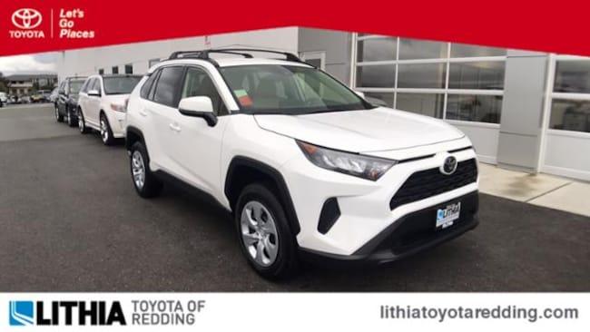 New 2019 Toyota Rav4 Suv Le Super White For Sale In Redding Near Red