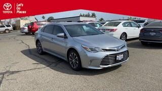 Used 2016 Toyota Avalon XLE Premium Sedan Redding, CA
