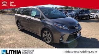 New 2019 Toyota Sienna SE 8 Passenger Van Redding, CA
