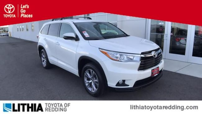 Certified Pre-Owned 2016 Toyota Highlander LE Plus V6 SUV Redding, CA
