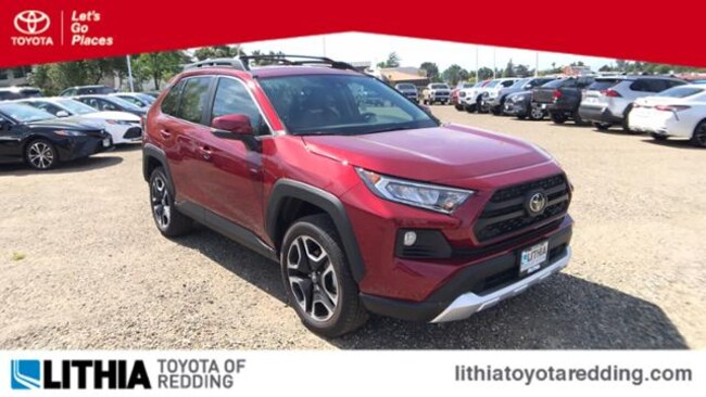 New 2019 Toyota RAV4 Adventure SUV Redding, CA