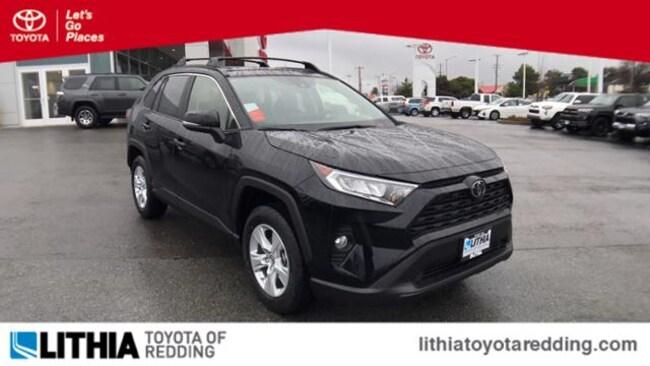 New 2019 Toyota Rav4 Suv Xle Midnight Black For Sale In Redding Near