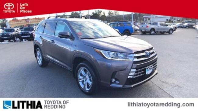 New 2019 Toyota Highlander Hybrid Limited V6 SUV Redding, CA