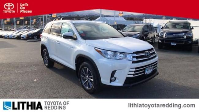 New 2019 Toyota Highlander Hybrid XLE V6 SUV Redding, CA