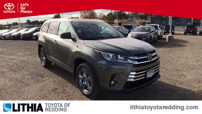 New 2019 Toyota Highlander Limited Platinum V6 SUV Redding, CA
