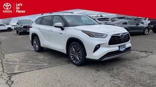 New 2021 Toyota Highlander Hybrid Platinum SUV Redding, CA
