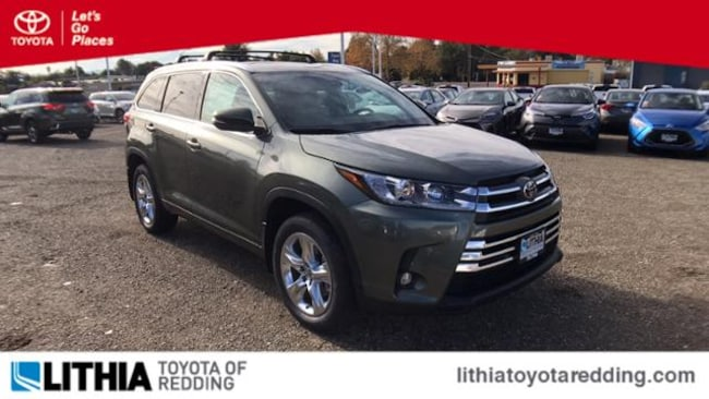New 2019 Toyota Highlander Limited V6 SUV Redding, CA