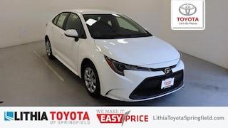 New 2021 Toyota Corolla LE Sedan Springfield, OR