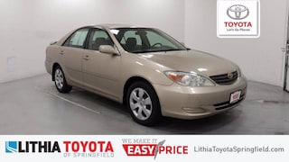 Certified Pre-Owned 2002 Toyota Camry LE V6 Sedan Springfield, OR