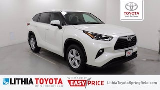 New 2021 Toyota Highlander LE SUV For Sale in Springfield, OR