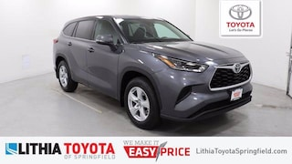 New 2021 Toyota Highlander L SUV For Sale in Springfield, OR