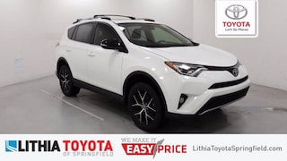 Certified Pre-Owned 2017 Toyota RAV4 SE SUV Springfield, OR