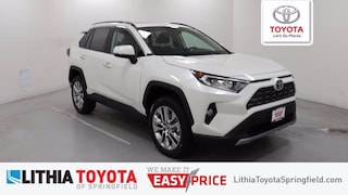 New 2021 Toyota RAV4 Limited SUV For Sale in Springfield, OR