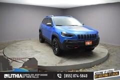 New 2021 Jeep Cherokee TRAILHAWK 4X4 Sport Utility Twin Falls, ID