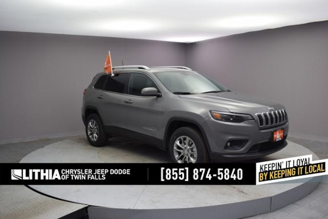New 2019 Jeep Cherokee LATITUDE PLUS 4X4 Sport Utility Twin Falls, ID