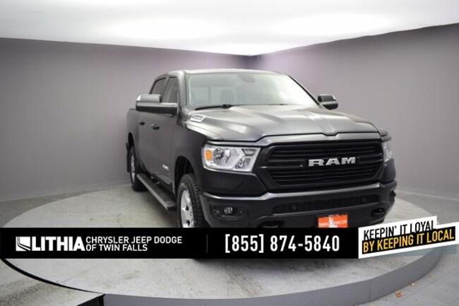 New 2019 Ram 1500 BIG HORN / LONE STAR CREW CAB 4X4 5'7 BOX Crew Cab Twin Falls, ID