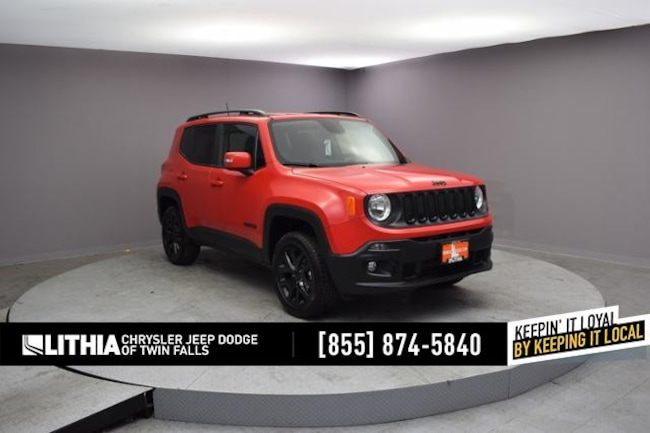 New 2018 Jeep Renegade ALTITUDE 4X4 Sport Utility Twin Falls, ID