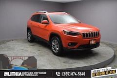 New 2021 Jeep Cherokee LATITUDE PLUS 4X4 Sport Utility Twin Falls, ID