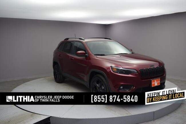 New 2019 Jeep Cherokee ALTITUDE FWD Sport Utility Twin Falls, ID