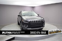 Certified Pre-Owned 2019 Jeep Cherokee Limited 4x4 SUV Twin Falls, ID
