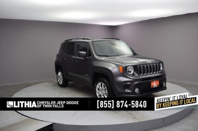 New 2019 Jeep Renegade LATITUDE 4X4 Sport Utility Twin Falls, ID