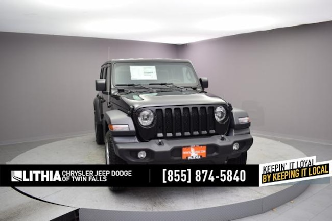 New 2018 Jeep Wrangler UNLIMITED SPORT S 4X4 Sport Utility Twin Falls, ID