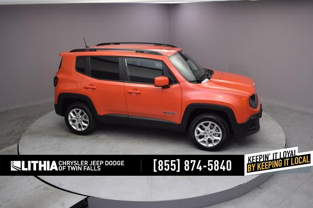 New 2018 Jeep Renegade LATITUDE 4X4 Sport Utility Twin Falls, ID