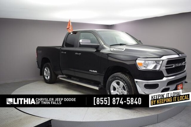 New 2019 Ram 1500 TRADESMAN QUAD CAB 4X4 6'4 BOX Quad Cab Twin Falls, ID